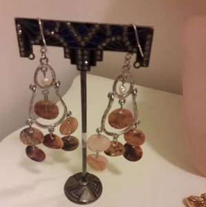 Vintage Dangling pierced earrings